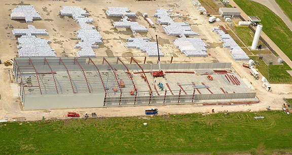 Project: Salt Storage Building   Mount Vernon, IN Customer: Warehouse  Services Inc.   Mount Vernon, IN Contractor: Superior Concrete Constructors  ...